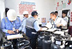Clausuran locales de venta de gas que no cumplían con normas de seguridad en Jesús María