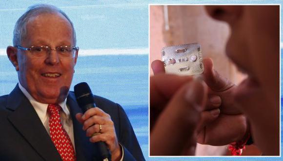PPK se pronunció sobre fallo que ordena entrega gratuita de la píldora del día siguiente. (USI)