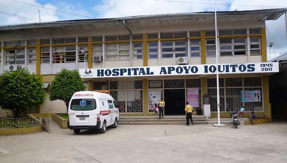 Loreto: La mujer y su hija fueron trasladadas al Hospital de Apoyo de Iquitos, donde reciben atención médica. (Foto: Difusión)