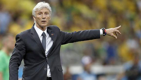 José Pékerman sería el sustituto de Alejandro Sabella en Argentina. (EFE)