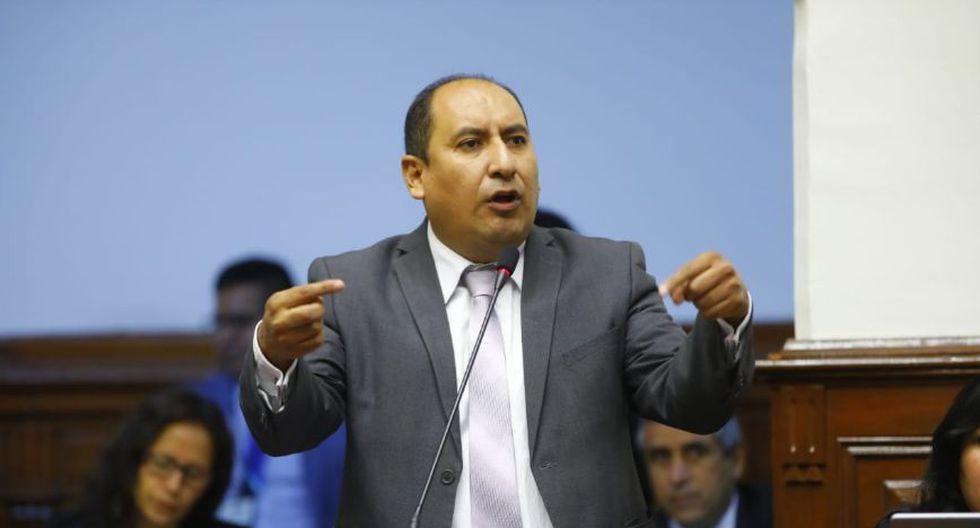 """El vocero de la bancada Nuevo Perú, Richard Arce, dijo que lo importante es la reforma política y no el ambiente """"confrontancional"""" con Fuerza Popular. (Foto: Congreso)"""