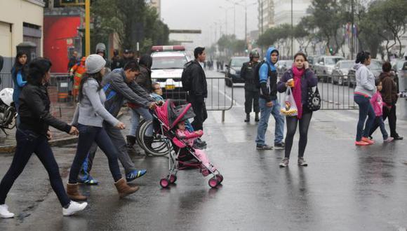 En Lima Oeste, la temperatura máxima llegaría a 18°C, mientras que la mínima sería de 13°C.  (Foto: GEC)