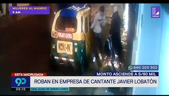Trabajadora del la empresa de Javier Lobatón está implicada en el robo de computadoras y dinero del referido establecimiento. (Captura: Latina)