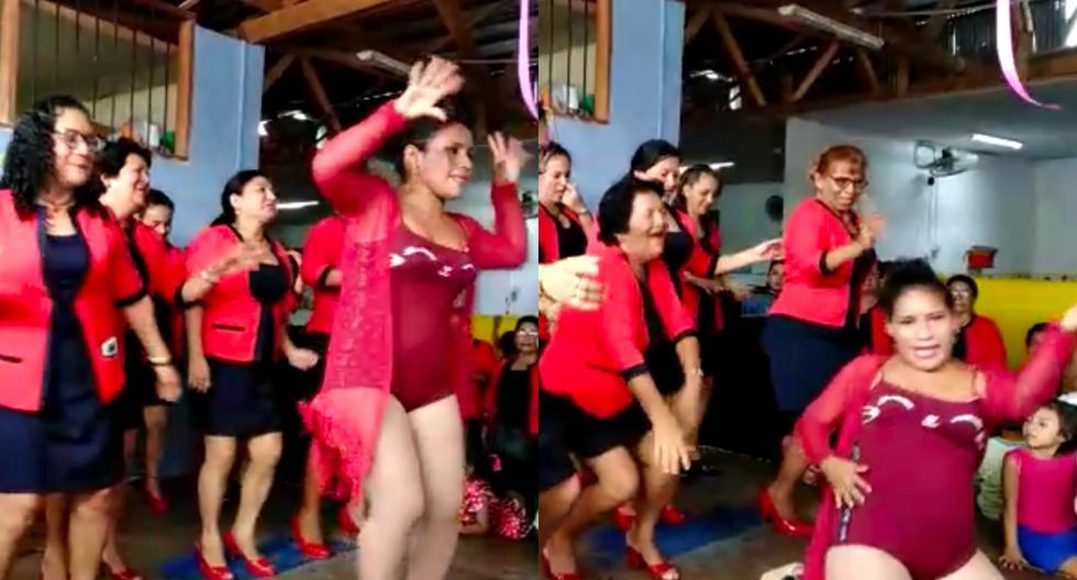Loreto: Maestras celebraron su día con peculiar baile en Iquitos. (Loreto Informa News)