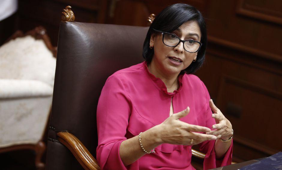 Sylvia Cáceres, ministra de Trabajo y Promoción del Empleo. (Foto: GEC)