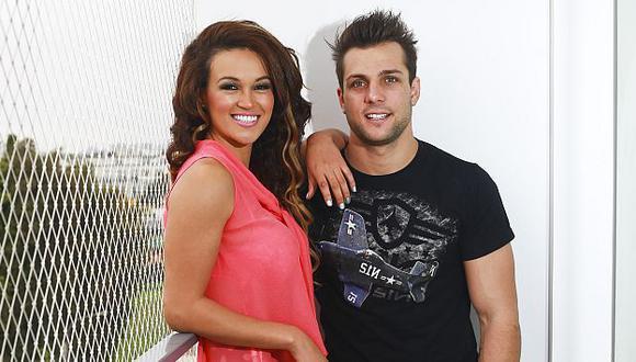 Nicolla Porcella y Angie Arizaga ahora serán pareja de telenovela. (USI)