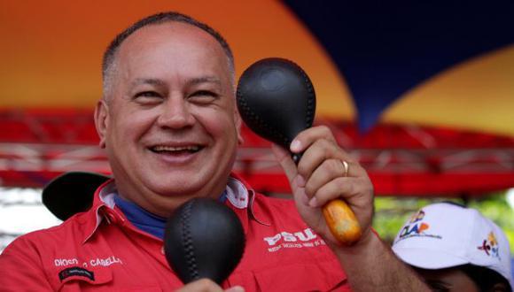 Diosdado Cabello señaló que espera que en Colombia aparezca un Hugo Chávez (Reuters).