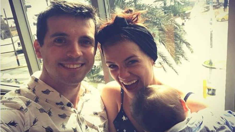 Alzamora le pidió a sus seguidores que recen por su menor hijo. (Instagram/@mariapazgvb)