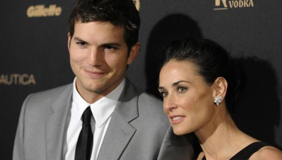 """Tuve la gran fortuna de divorciarme"", dijo Ashton Kutcher. (AP)"