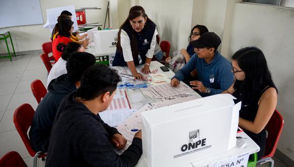 Las elecciones presidenciales en el Perú se llevarán a cabo el próximo domingo 11 de abril. Conoce tu local de votación AQUÍ (Foto: GEC)