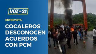 """Paro de Cocaleros: """"Desconocen los acuerdos de PCM"""""""
