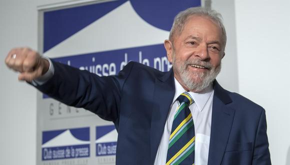 """Este mismo jueves, antes de la sesión, Lula declaró a una radio local que estaba """"muy tranquilo"""" y """"confiado"""" en que el Supremo le daría respaldo a la decisión de Fachin, que anuló las penas dictadas en su contra. (Foto: EFE/EPA/MARTIAL TREZZINI)"""