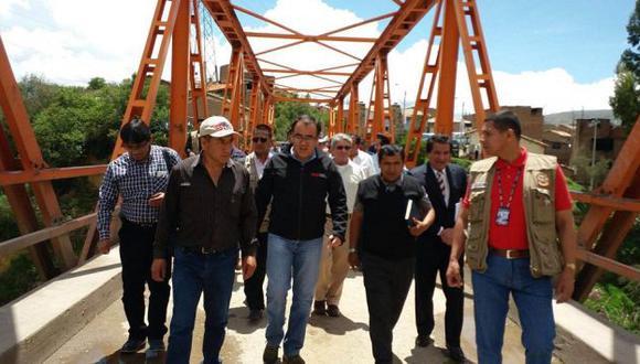 MTC reemplazará puente Chupuro ante crecida del río Mantaro. (Difusión)