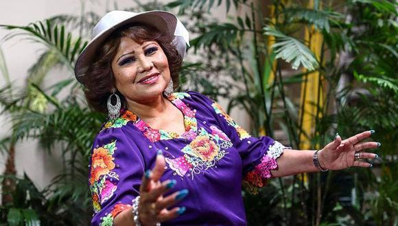 Amanda Portales es considerada una de las mejores exponentes de nuestra música. (Foto: Félix Ingaruca / El Comercio)