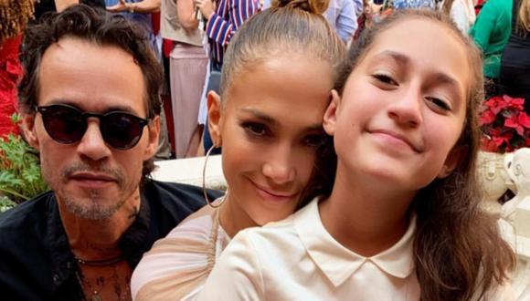Marc Anthony y Jennifer Lopez se muestran orgullosos de Emme por su primer libro. (Foto: Instagram)
