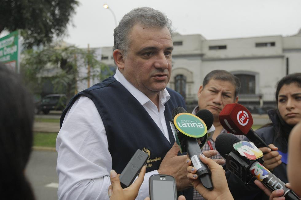 Gustavo Guerra García es candidato por el partido Juntos por el Perú. (Mario Zapata)