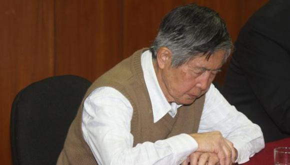 Alberto Fujimori acudirá a audiencia del jueves para no retrasar juicio. (USI)