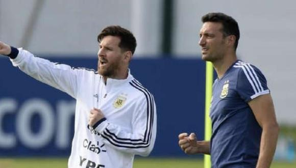 Lionel Messi llegó a los 22 goles con la selección de Argentina ante Ecuador. (Foto: AFP)