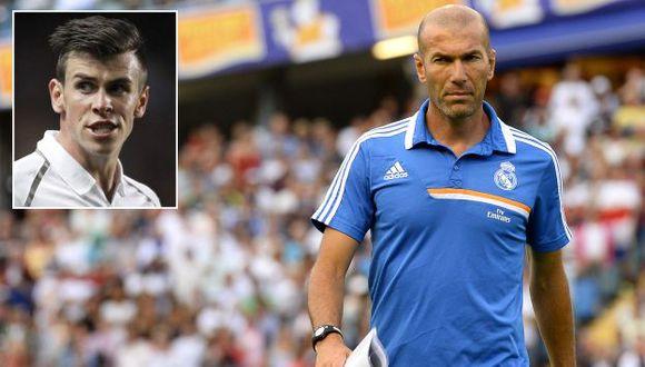 Zidane dijo que Bale es una de las prioridades para el Real Madrid. (AFP)