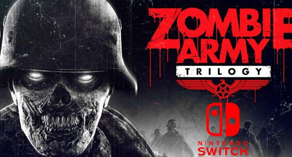 Zombie Army Trilogy llegará el próximo 31 de marzo a Nintendo Switch. (Nintendo)