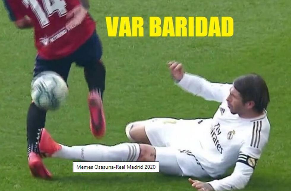 Los mejores memes de la victoria de Real Madrid ante Osasuna por LaLiga.