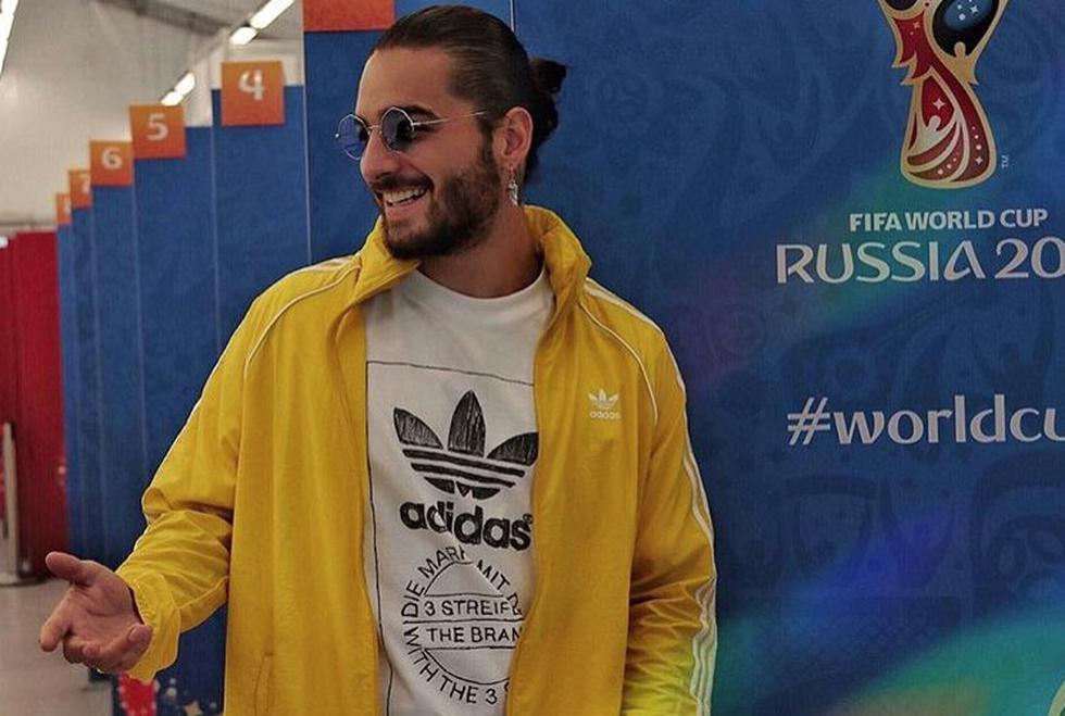 """""""Me siento feliz, muy orgulloso, demasiado contento de trabajar con Coca-Cola para la canción del Mundial"""", declaró el cantante colombiano. (Instagram)"""