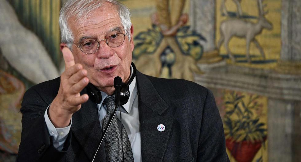 Josep Borrell utilizó su cuenta de Twitter para enviar un mensaje a su homólogo iraní, Mohammad Javad Zarif. (AFP)