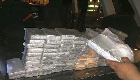 La Policía también destruyó en Cusco una poza clandestina de maceración de hoja de coca.(Foto referencial: GEC)