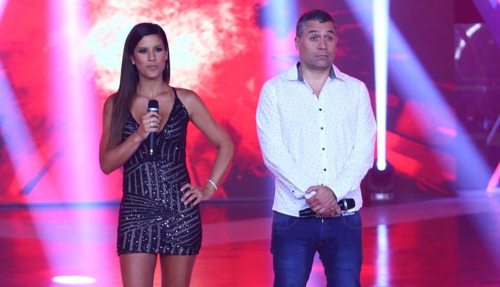 """María Pia Copello se reencontró con Mathías Brivio tras su salida de """"Esto es guerra"""". (Foto: GEC)"""