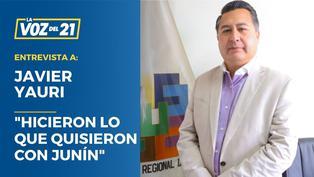 """Javier Yauri, exgerente general de la región Junín: """"Hicieron lo que quisieron con Junín"""""""