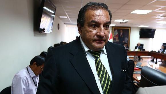 Manuel Merino de Lama señala que rumores de captura de Gerardo Viñas fueron una artimaña para distrar la atención de la prensa. (Rafael Cornejo)