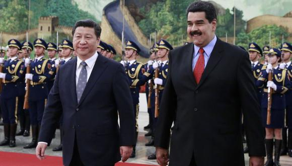 Beijing ha prestado más de 50.000 millones de dólares a Venezuela a través de acuerdos petroleros durante la última década. (Foto: AFP)