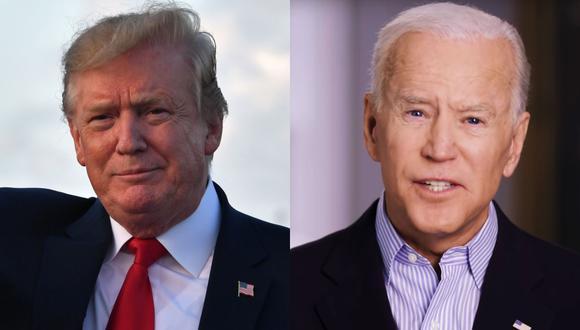 """Joe Biden justificó su decisión de lanzar su candidatura por considerar que con una reelección de Trump están en juego """"los valores fundamentales"""". (Foto: AFP)"""