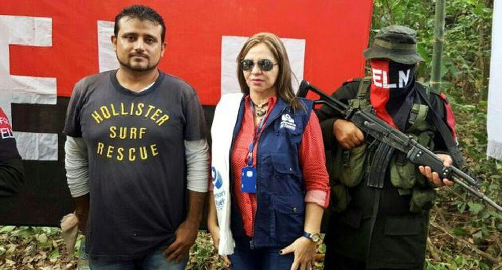 ELN liberó a civil en Colombia a horas de anuncio sobre diálogo de paz. (AFP)