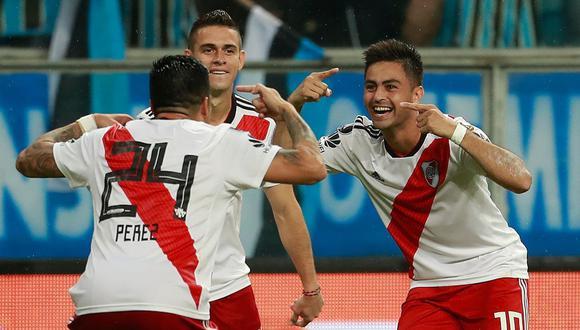 River Plate eliminó a Gremio, vigente campeón de la Copa Libertadores. (AFP)
