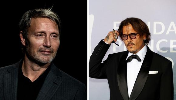 "Mads Mikkelsen será el mago ""Gellert Grindelwald"", papel que dejó Johnny Depp tras perder un juicio. (Foto: JEFF PACHOUD / ERIC GAILLARD / AFP)"