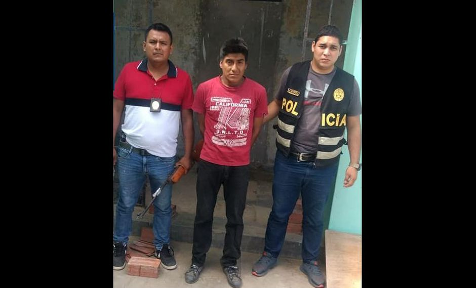 Santos Ramírez Huaman fue detenido por el secuestro de su pareja. (PNP)