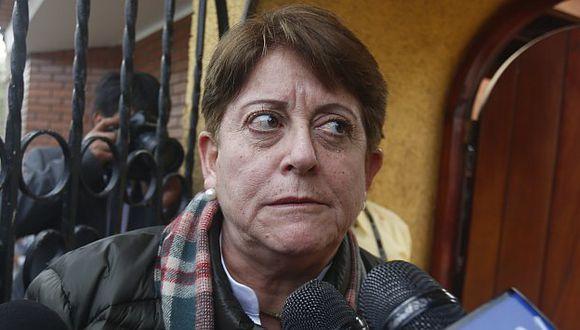 Lourdes Alcorta. (Renzo Salazar)