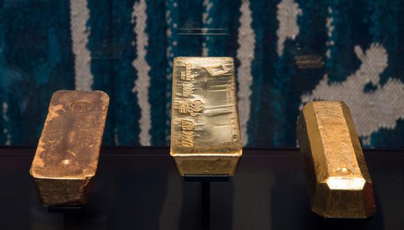 El oro al contado cotizaba con una baja marginal de 0.02%, a US$1,198.85 la onza. (Foto: AFP)