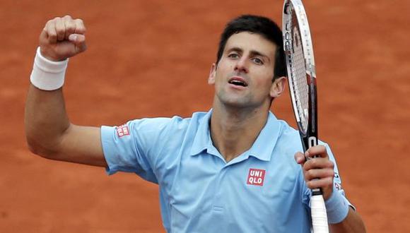 Novak Djokovic aplasta a Tsongay avanza a octavos de Roland Garros. (Reuters)