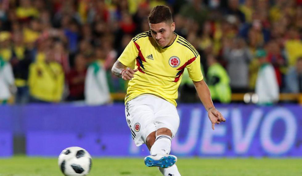 Juan Fernando Quintero marcó el 1-1 contra Japón. (Reuters)