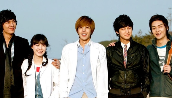 """""""Boys over flowers"""" fue transmitida por primera vez por la cadena de televisión KBS 2TV en el 2009. (Foto: KBS)."""