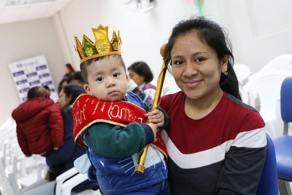 En esta actividad participaron 32 menores de edad de los 16 centros asistenciales que conforman dicha red, en las categorías: 0-6 meses; 6-12 meses y de un año a más. (Foto: EsSalud)