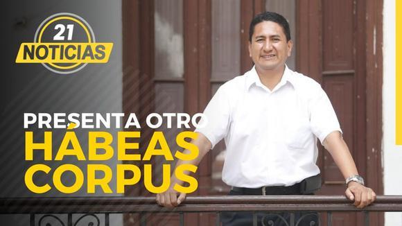 """Cerrón presenta otro hábeas corpus y pretende anular resolución contra """"Los Dinámicos del Centro"""""""