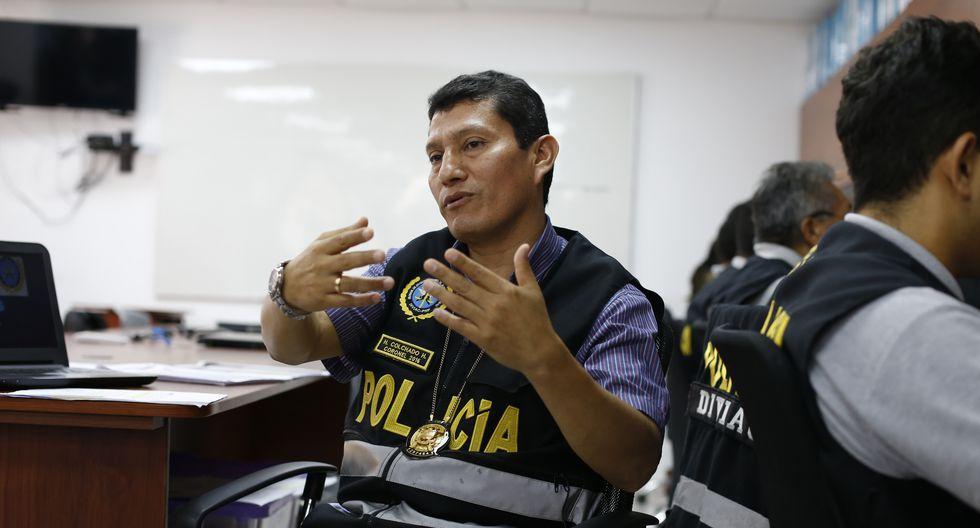 Entrevista al Crnl. PNP Harvey Colchado, exjefe de la División de Investigación de Delitos de Alta Complejidad (Diviac). (Foto: GEC)