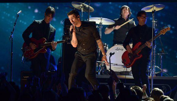 Maroon 5 estará presente en elSuper Bowl 2019. (Foto: AFP)