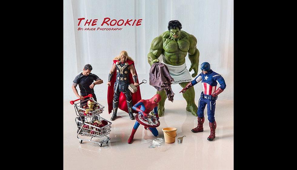 La llegada de Spider-Man a Marvel. (Cuenta en Facebook de Edy Hardjo)