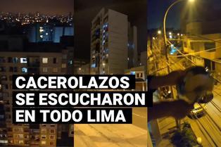 Cacerolazos en Lima en contra de Merino y fallecidos en protestas