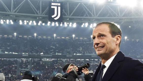En esta temporada, Allegri ganó la Serie A, cayó eliminado en los cuartos de final de la champions contra Ajax y en los cuartos de la Copa Italia ante Atalanta. (Foto: EFE)