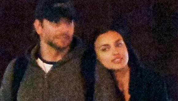 Bradley Cooper e Irina Shayk fueron ampayados por los paparazzis. (Revista Hola)